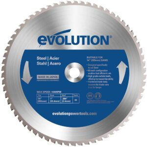 Evolution Power Tools 14BLADEST 14-Inch Circular Saw Blade