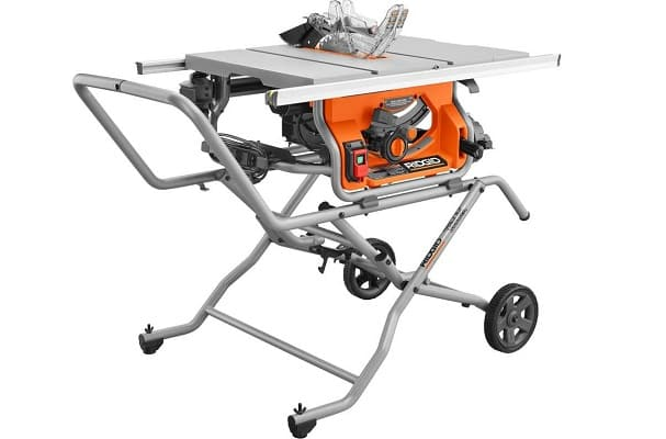 Jobsite table saws
