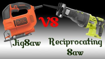 Reciprocating saw vs jigsaw: Which one is better?