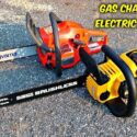 Electric vs gas chainsaw: Which One Is Better?