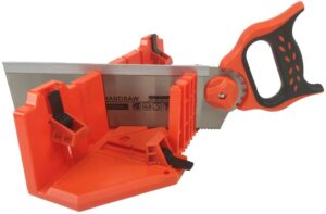 DUEBEL Mitre Box Set with 12 Inch Back Saw