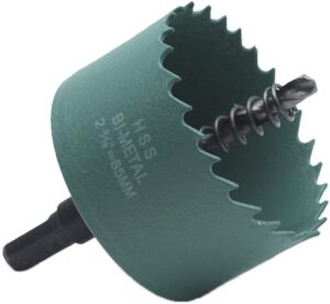 LICTOP 65mm / 2.5 Inch BI-Metal Wood Hole Saws