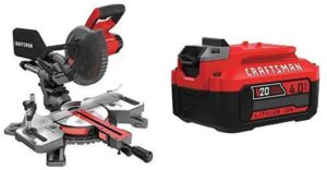 CRAFTSMAN V20 Sliding Miter Saw
