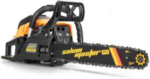 SALEM MASTER 5820H 58CC 2-Cycle Gas Powered Chainsaw