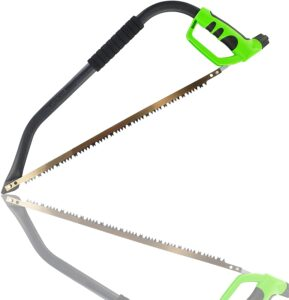 Thrive Tools 21 inch Bow Saw - Tree Saw and Tree Limb Pruning Saw