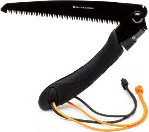 Folding Hand Saw with Ergonomic TPR Handle