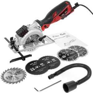 XtremepowerUS Electric Compact Circular Saw
