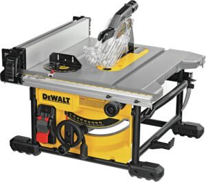 DEWALT Table Saw for Jobsite