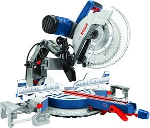 Bosch Power Tools 12 Inch Corded Dual-Bevel Sliding Glide Miter Saw